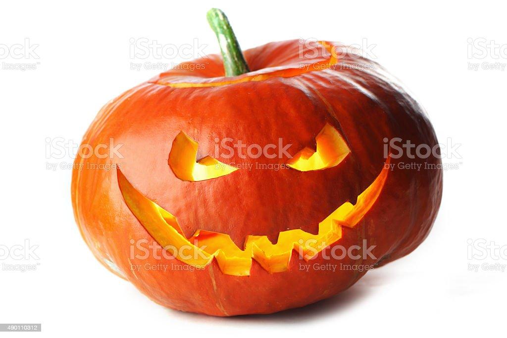 Halloween Jack O' Lantern stock photo
