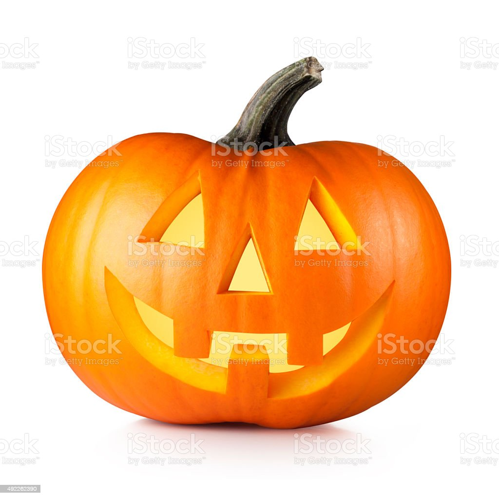 Halloween. Jack O' Lantern. stock photo