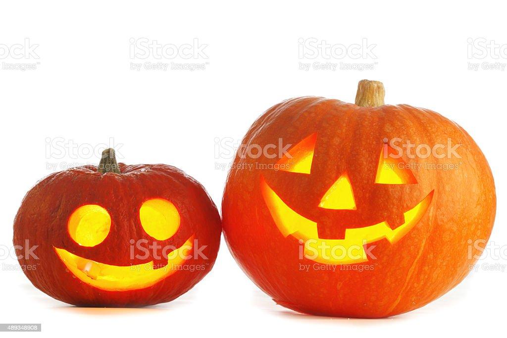 Halloween Jack O' Lanterns stock photo