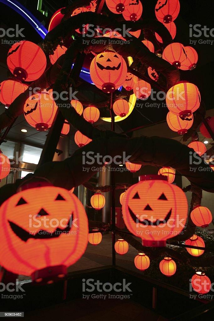 Halloween Masks royalty-free stock photo