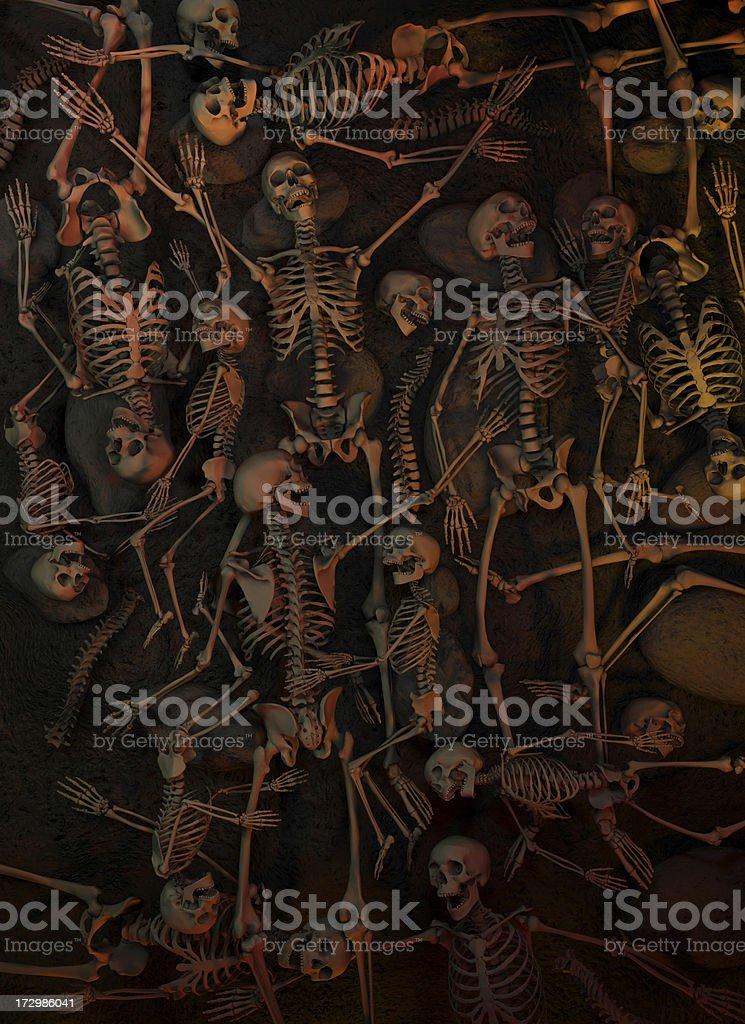 Halloween, Massacre, Genocide. royalty-free stock photo