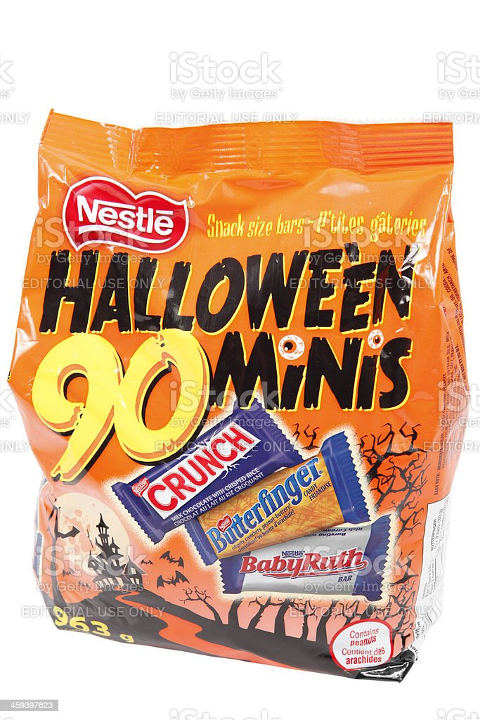 Halloween Nesle Candy Bag stock photo