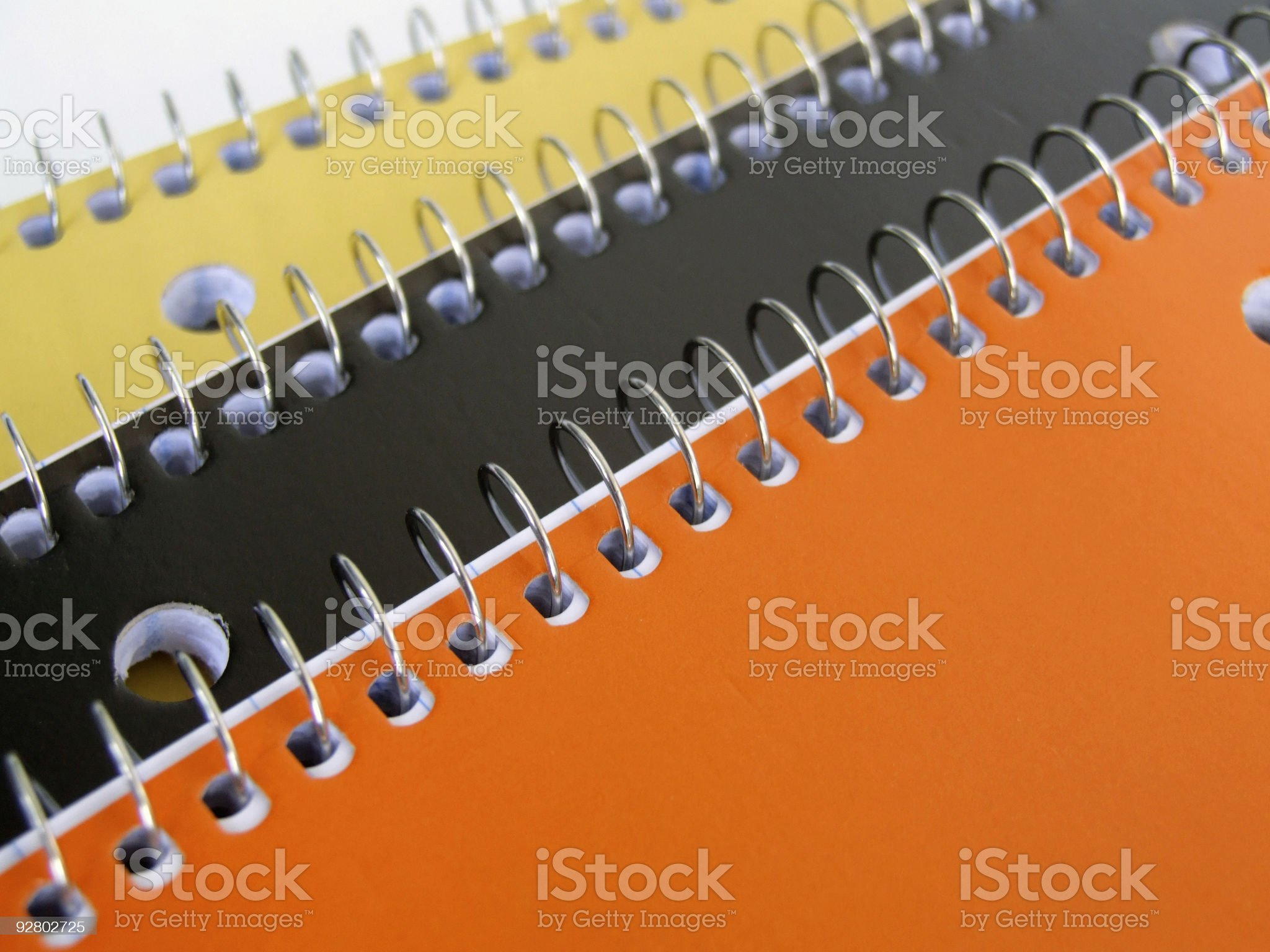 Halloween Notebooks royalty-free stock photo