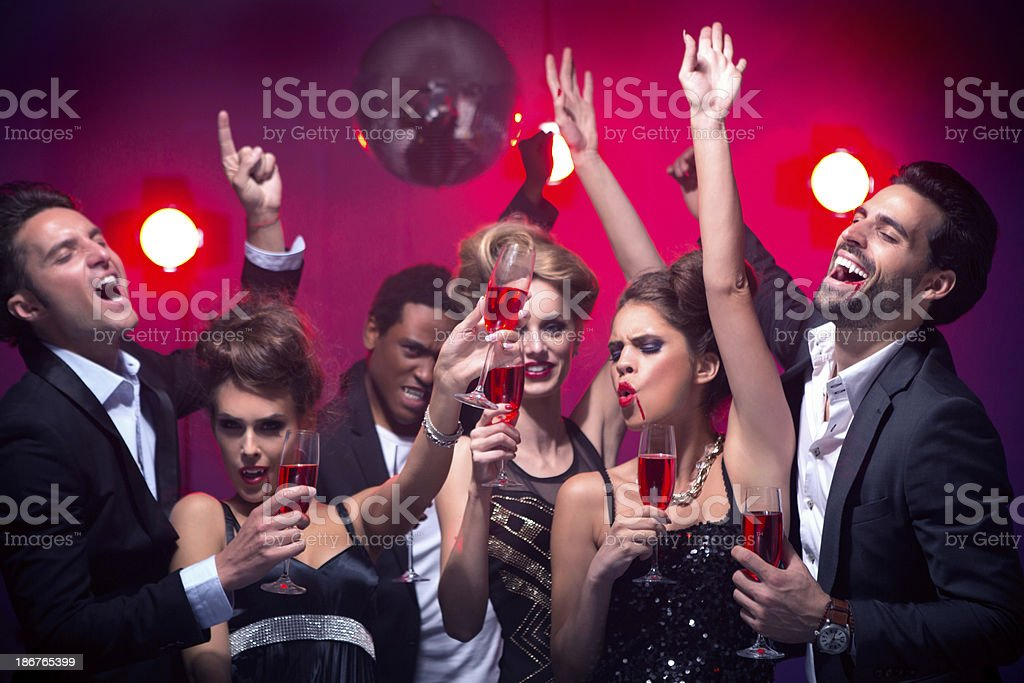 Halloween party. royalty-free stock photo