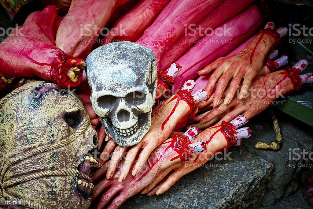Halloween Props royalty-free stock photo