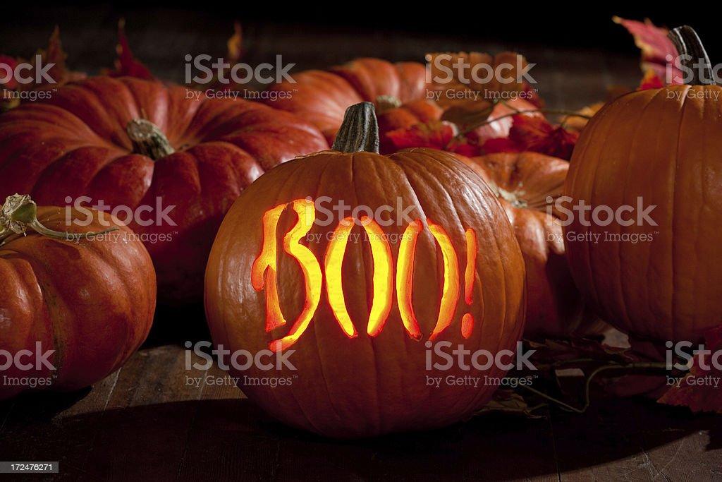 Halloween Pumpkin Jack O'lantern royalty-free stock photo