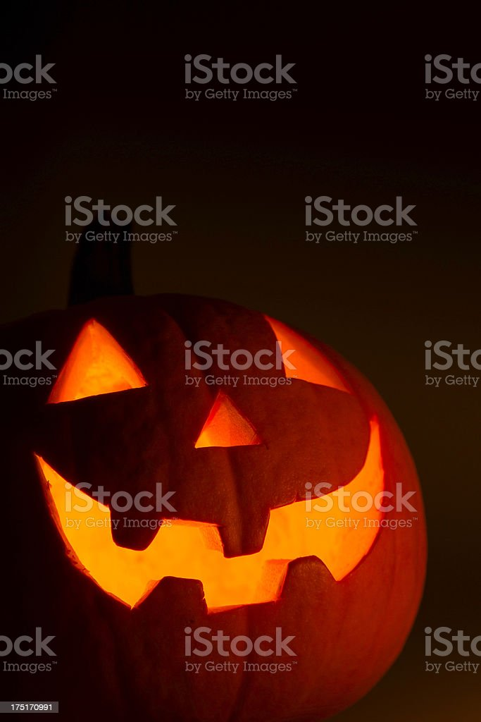halloween pumpkin royalty-free stock photo