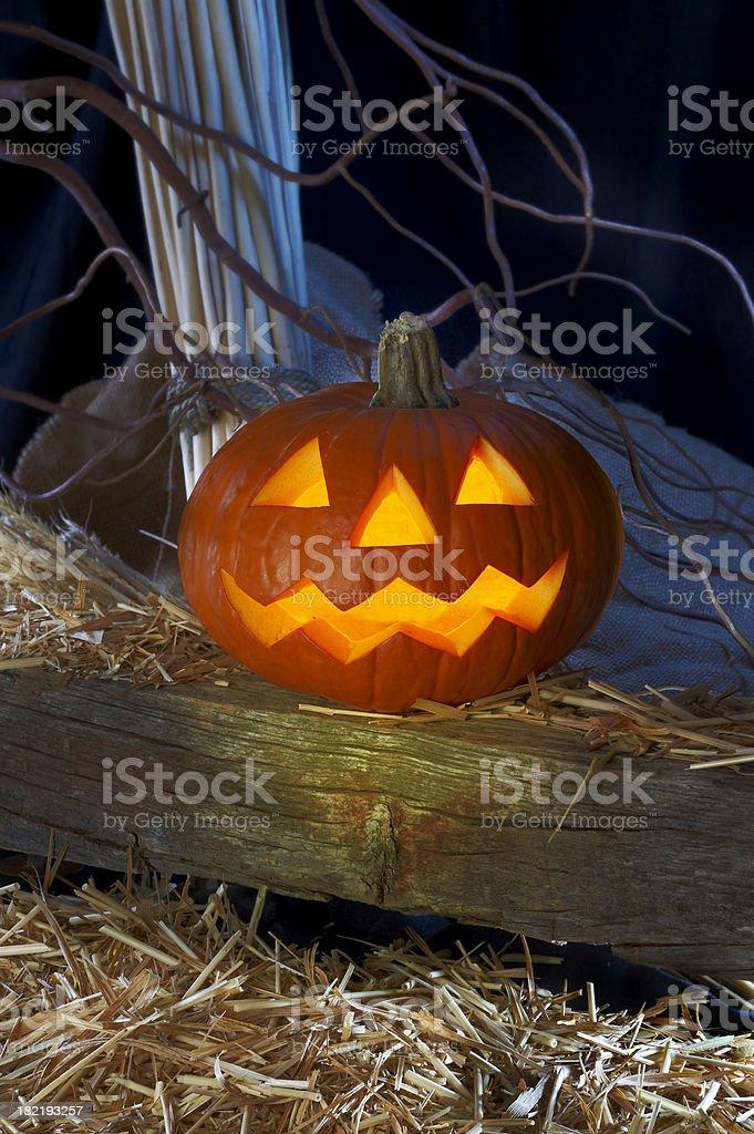 Halloween pumpkin. royalty-free stock photo
