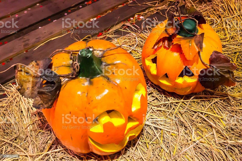 Halloween pumpkin. stock photo