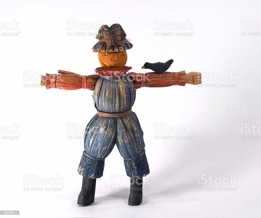 Halloween Scarecrow stock photo