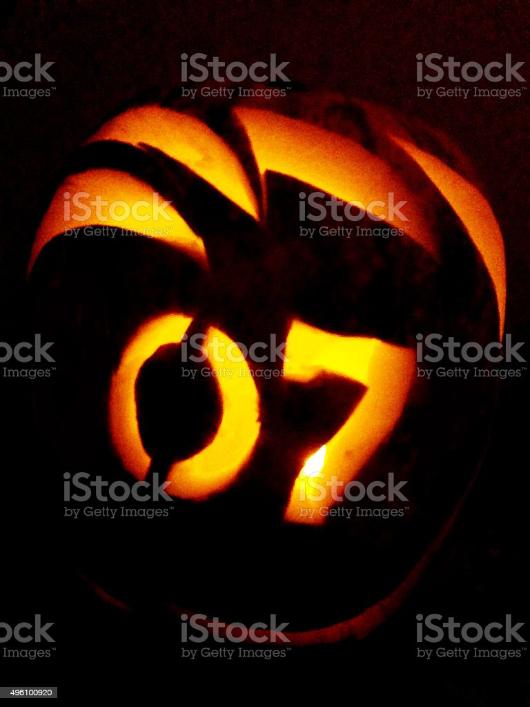 Halloween Scene stock photo