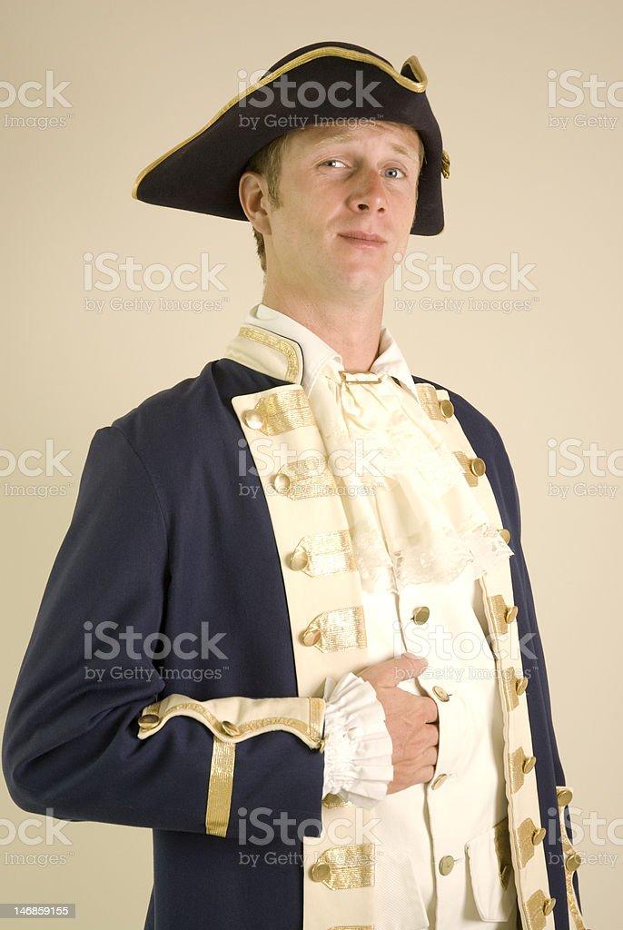 Halloween Sea Captain royalty-free stock photo