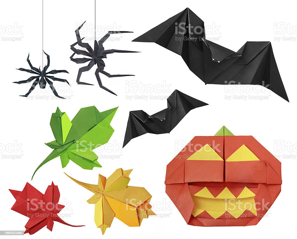 Halloween set royalty-free stock photo