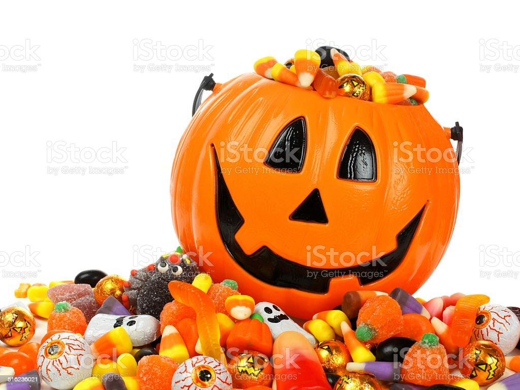 Halloween sweets stock photo