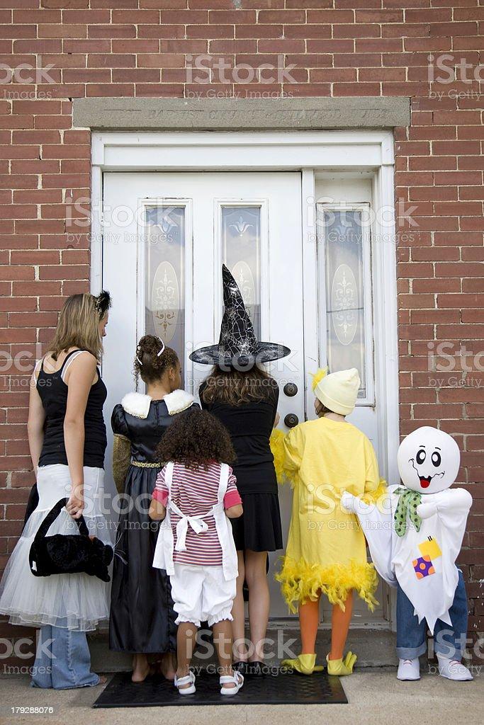 Halloween Trick or Treat 3 royalty-free stock photo