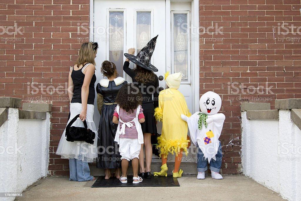 Halloween Trick or Treat 4 stock photo