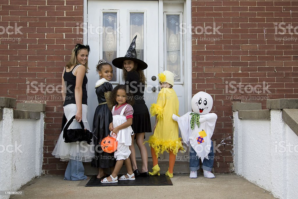 Halloween Trick or Treat 5 stock photo