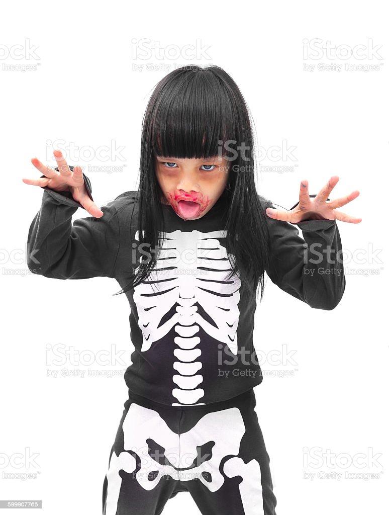 Halloween zombie stock photo