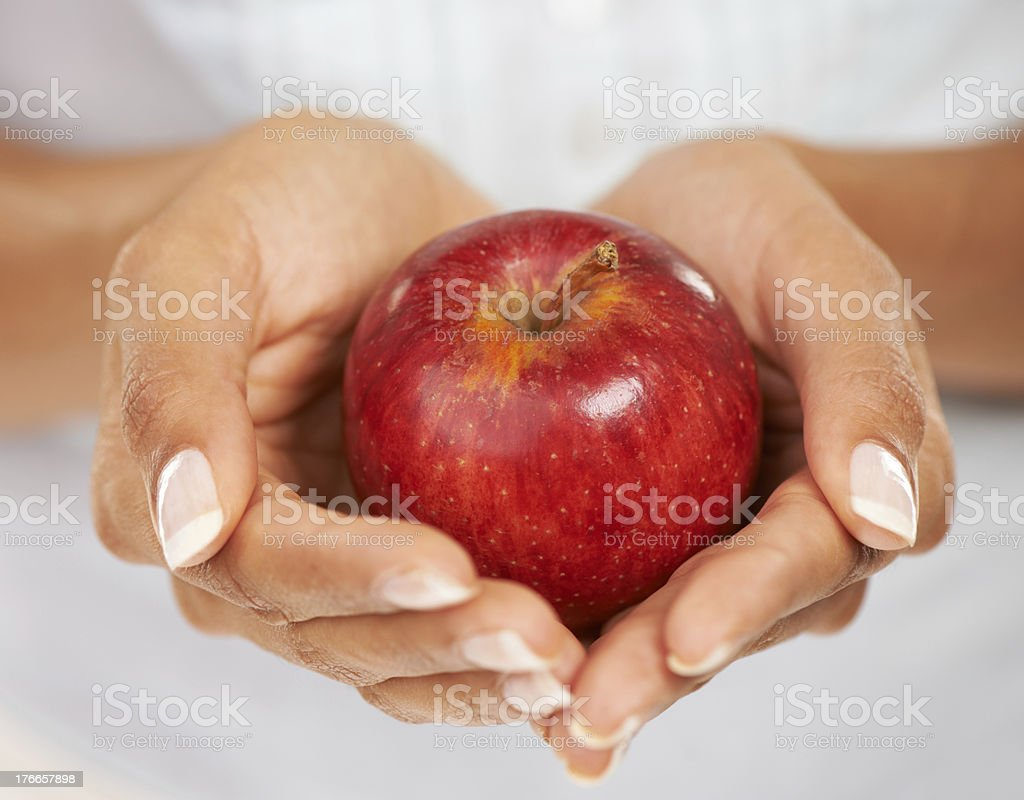 Hallowing health royalty-free stock photo