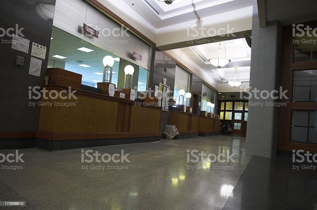 halls of justice royalty-free stock photo