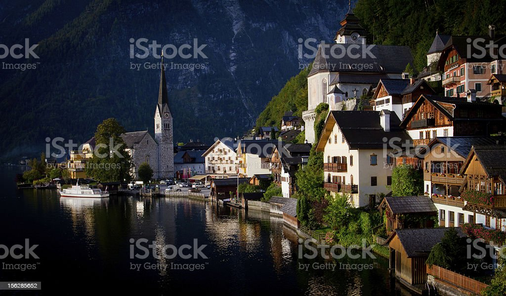 Hallstatt, Austria. royalty-free stock photo