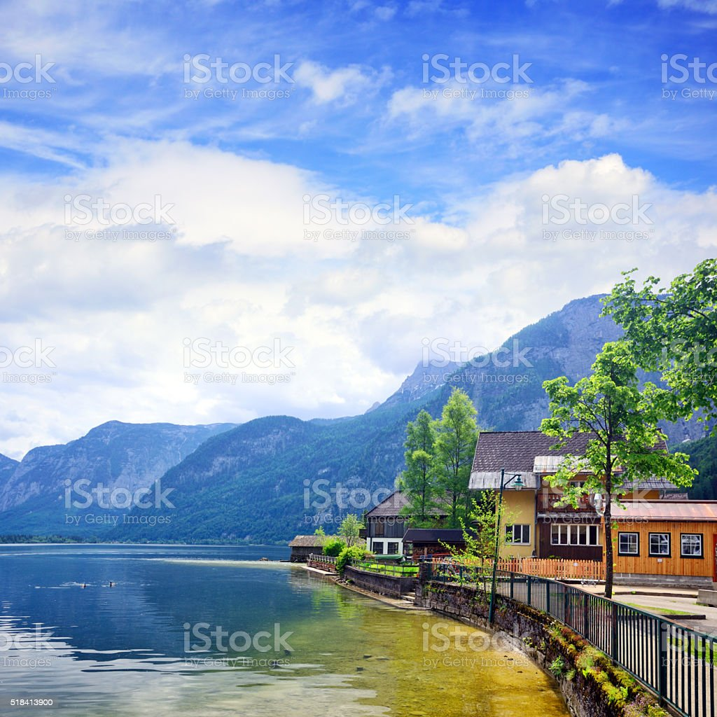 Hallstatt, Austria stock photo