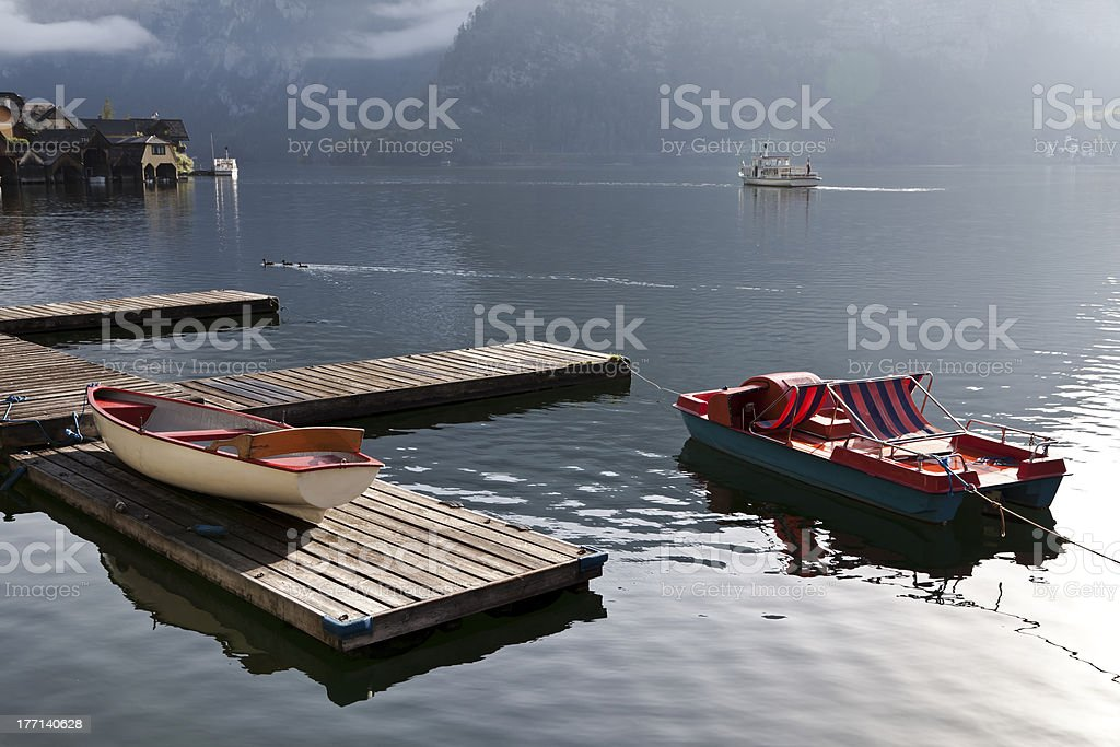 Hallstatt royalty-free stock photo