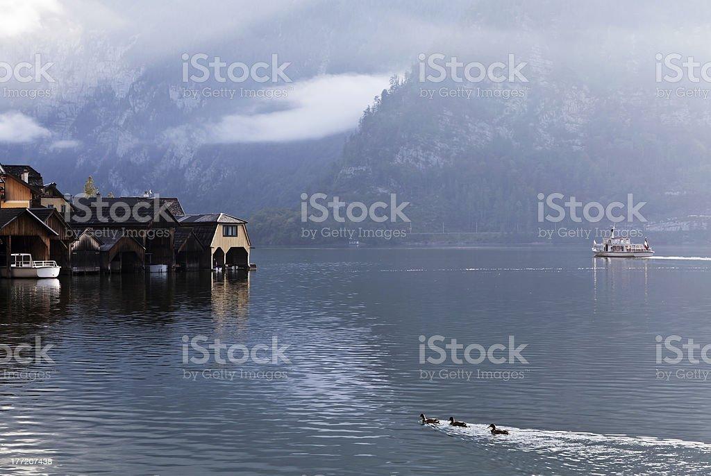 Hallstatt royalty-free stock photo