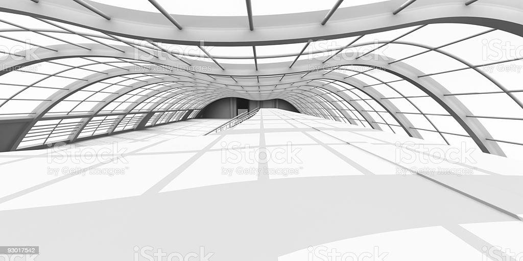Hallway Architecture royalty-free stock photo