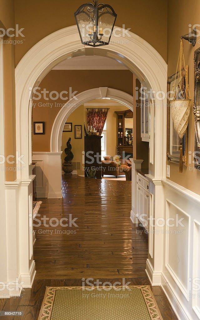 Hallways royalty-free stock photo