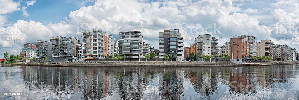 Halmstad Luxury Apartments stock photo