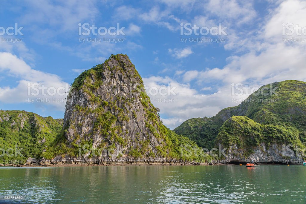 Halong Bay, Hanoi, Vietnam stock photo