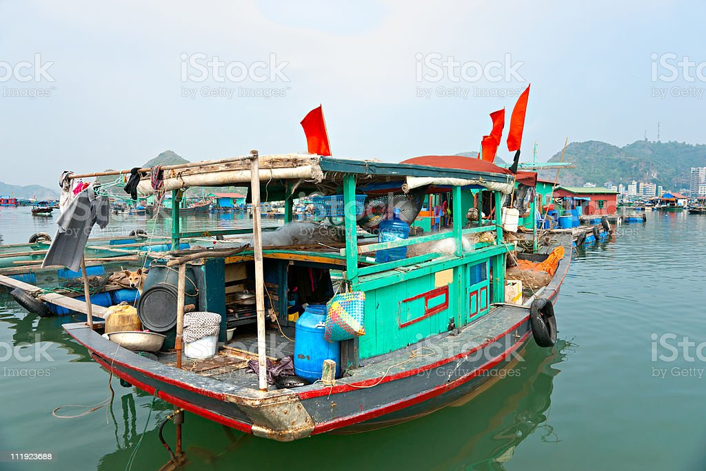 Halong Bucht, Vietnam. Provinz Haiphong. – Foto