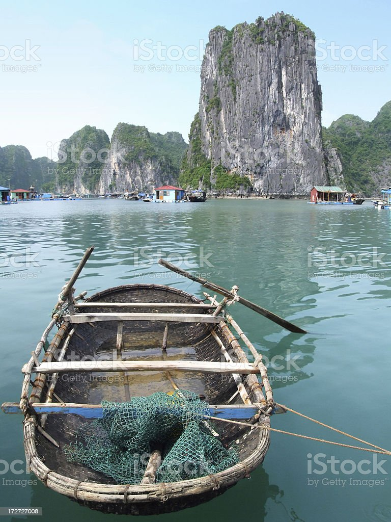 Halong Bay, Vietnam royalty-free stock photo