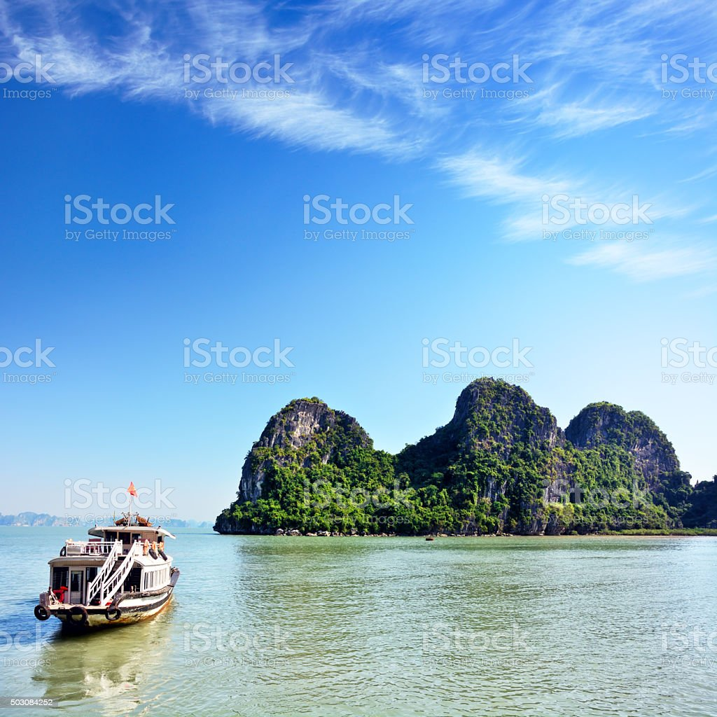 Halong Bay, Vietnam stock photo