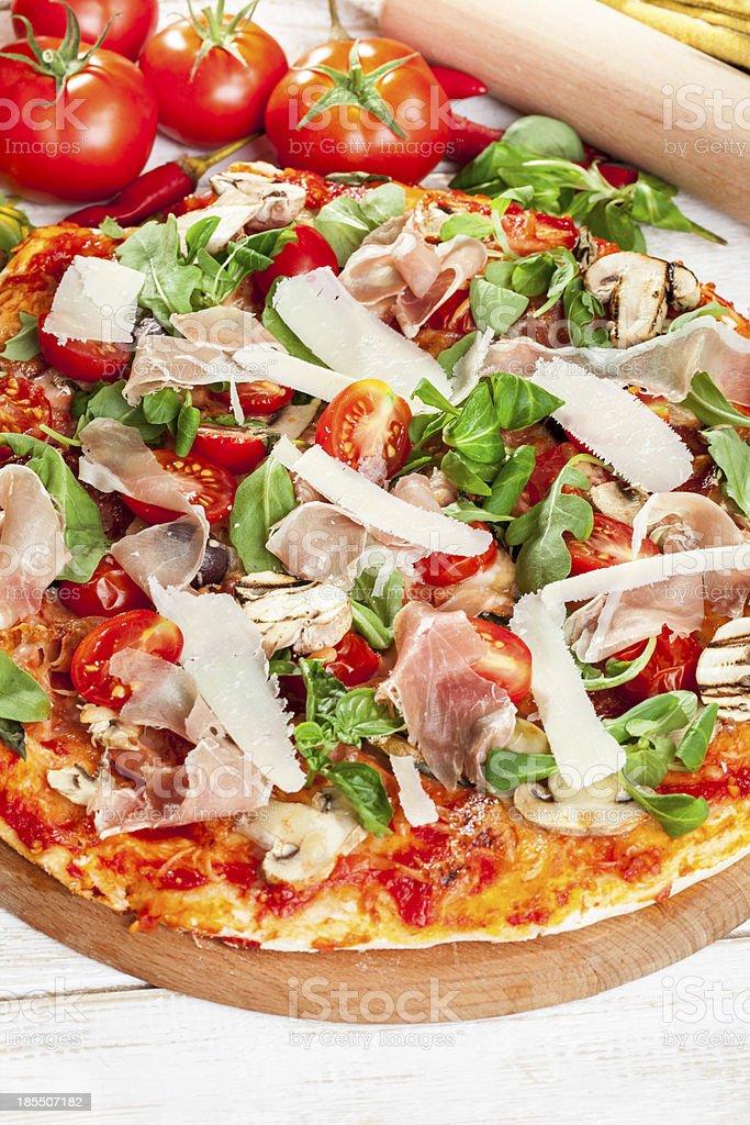 halthy pizza royalty-free stock photo