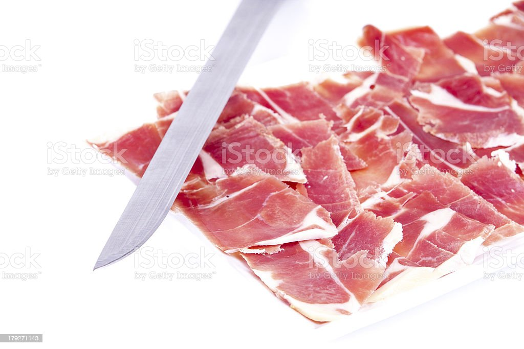Ham of Spain royalty-free stock photo