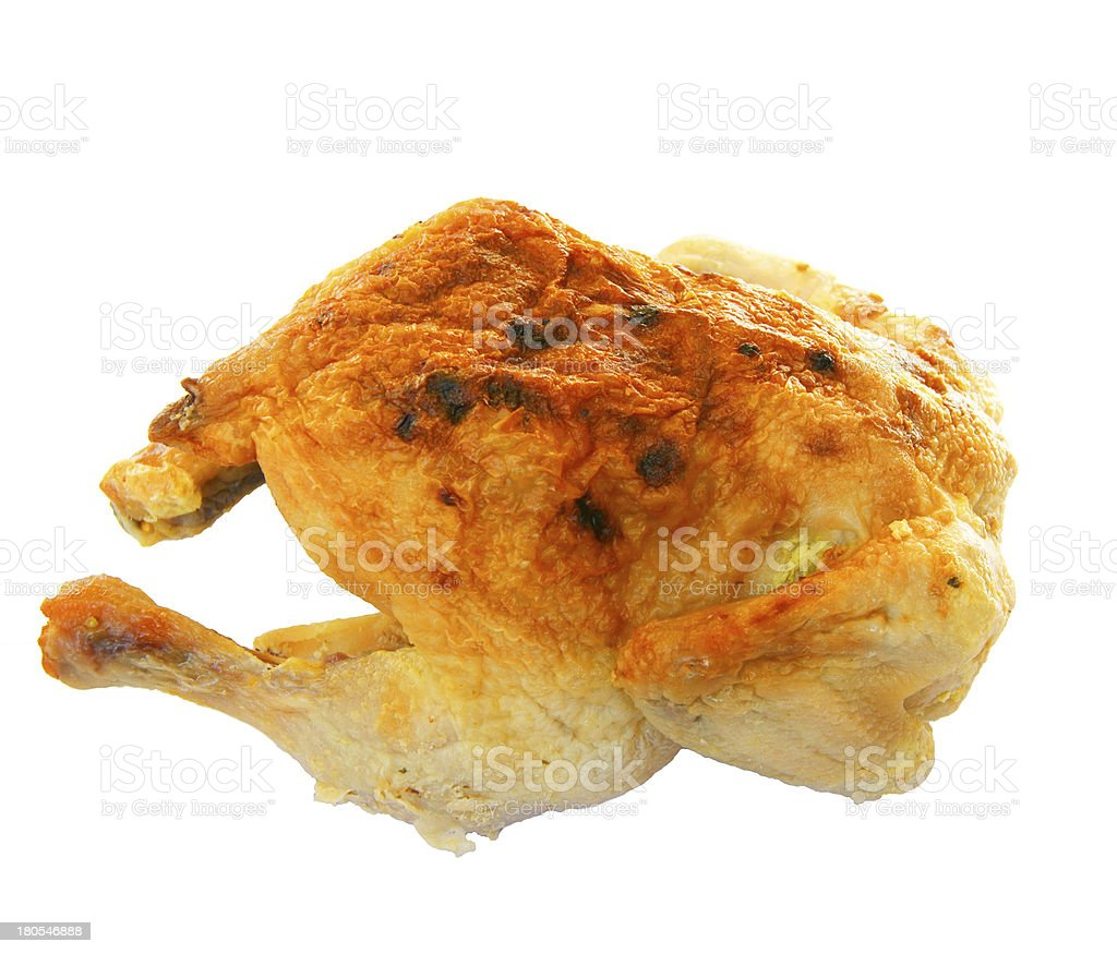 Ham of the hen fried royalty-free stock photo
