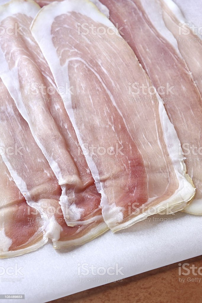 Prosciutto royalty-free stock photo