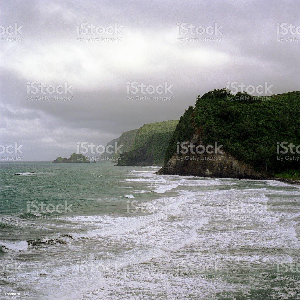 Hamakua Coast stock photo