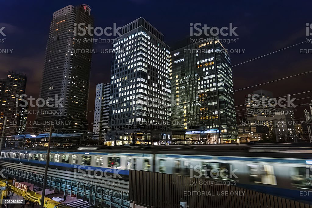 Hamamatsucho Station stock photo