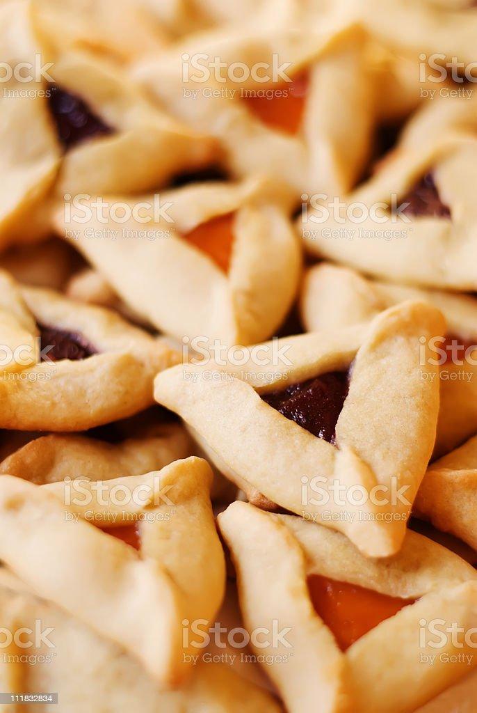 Hamantaschen Cookies royalty-free stock photo
