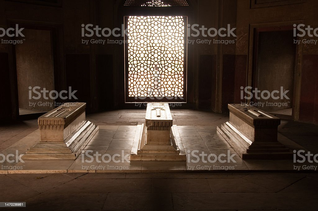Hamayun's Tomb, New Delhi, India royalty-free stock photo