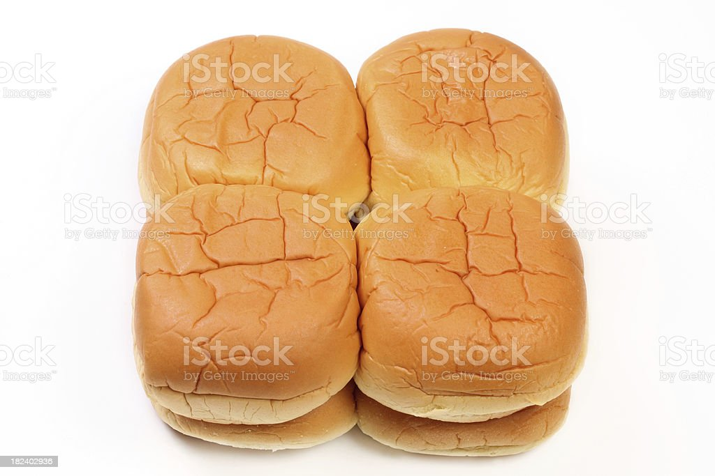 Hambuger buns royalty-free stock photo