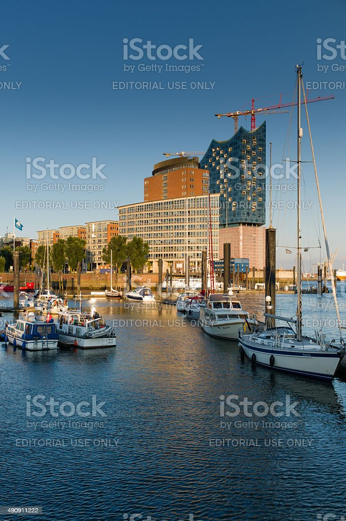 Hamburg Elbphilharmonie stock photo