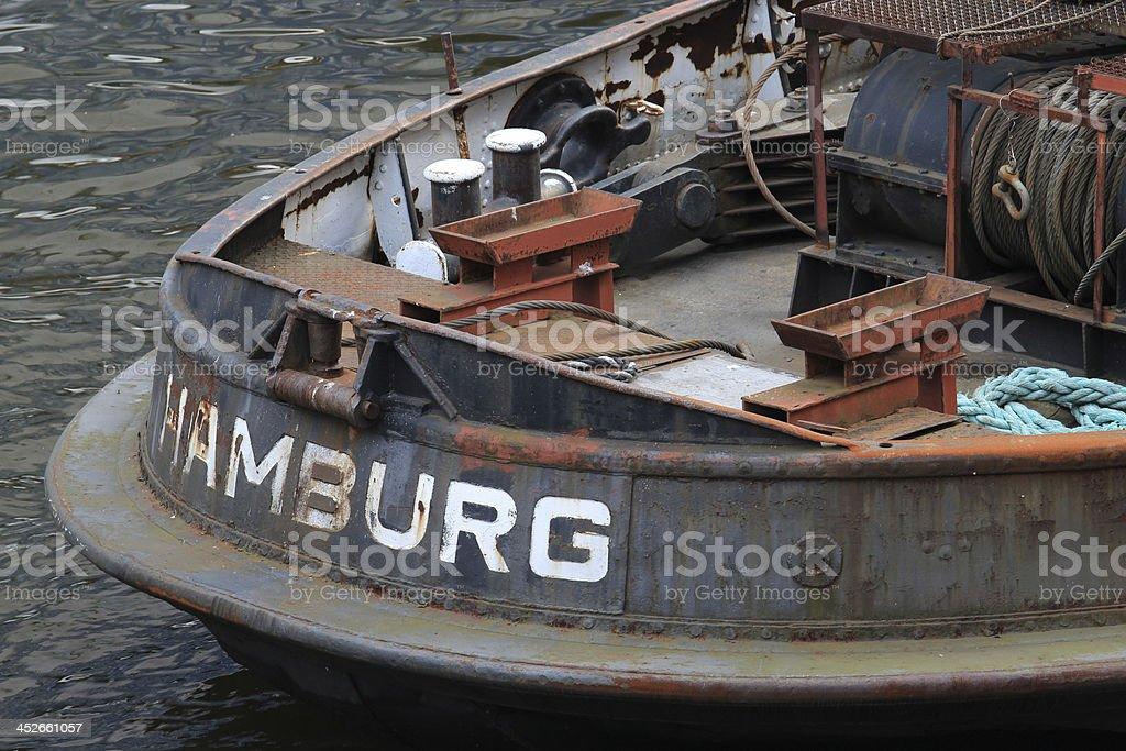 Hamburg German City stock photo