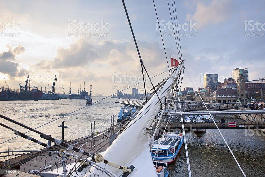 Hamburg, Germany royalty-free stock photo