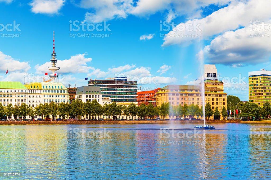 Hamburg, Germany stock photo