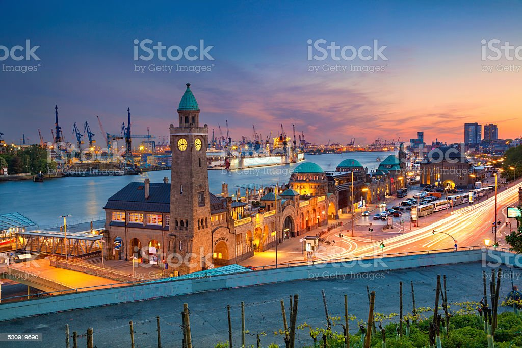 Hamburg, Germany. stock photo