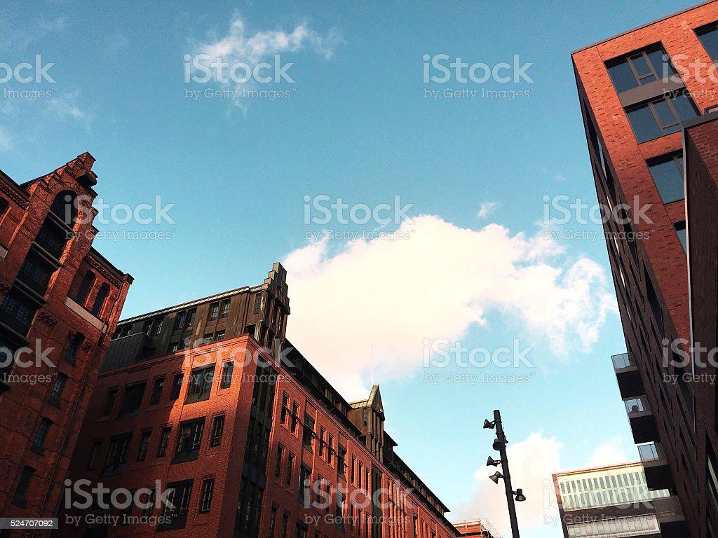 Hamburg - HafenCity stock photo